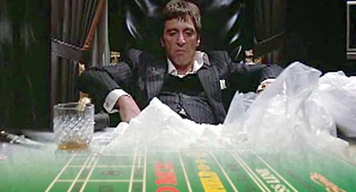 Gambler snorts cocaine at Sands Bethlehem baccarat table