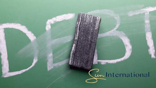 Sun International targets to rein $1B debt