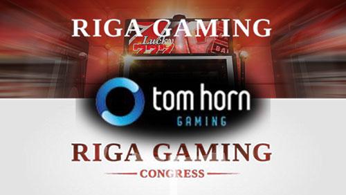 Tom Horn to exhibit slots in Riga