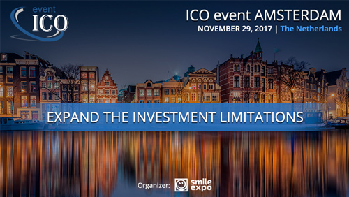ICO event Amsterdam brings together investors and blockchain startups developers