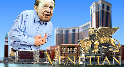 Venetian Macao 10th birthday bash pops corks, breaks ribs