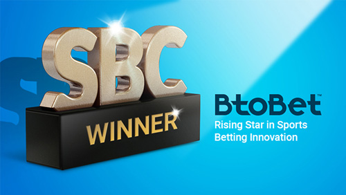 Btobet wins the SBC Awards 2017 as the rising star in sports betting innovation