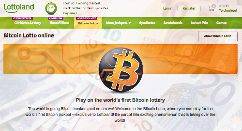 Lottoland unveils Bitcoin Lotto, world's first Bitcoin lottery