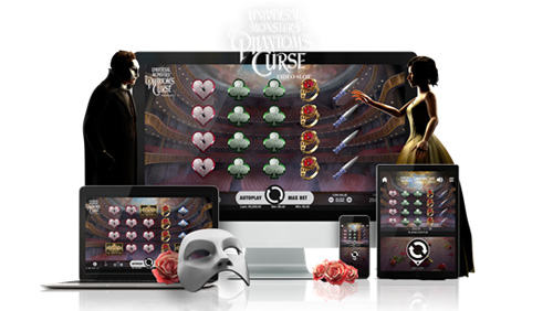 NetEnt launches Universal Monsters the Phantom's Curse video slot