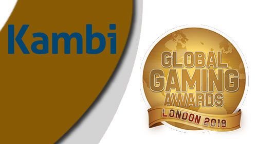Kambi named Online Sports Betting Supplier of the year at Global Gaming Awards