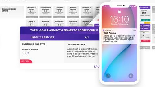 OtherLevels unveils innovative in-play sports betting messaging platform