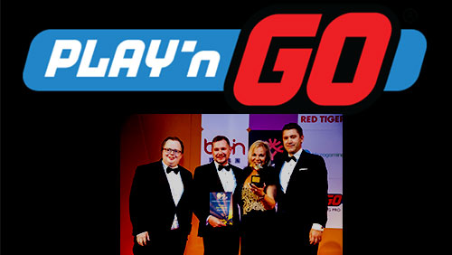 Play'n GO kick-off ICE with second straight IGA Award