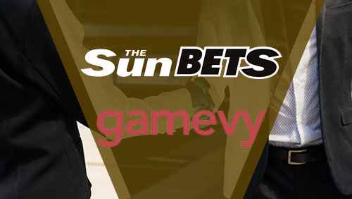 Sun Bets and Gamevy announce a new partnership