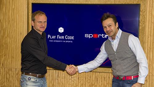 Play Fair Code strengthens ties with Sportradar