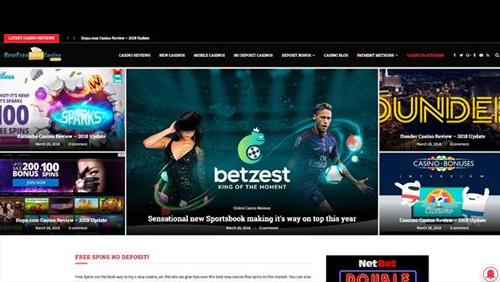 AXL Affiliates takes over NewFreeSpinsCasino.com