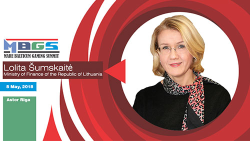 Lithuanian regulator, Lolita Šumskaitė will speak at Mare Balticum Gaming Summit 2018