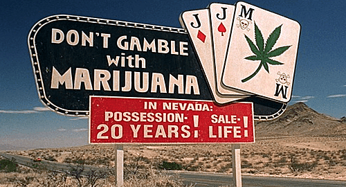 Nevada casinos warned over reefer-mad gamblers