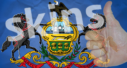 Pennsylvania won't limit online gambling skins, will force them to piggyback on casino domains