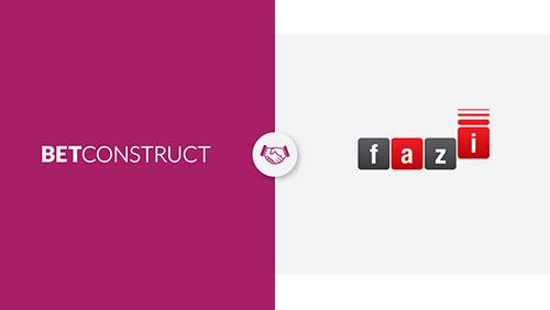 BetConstruct partners with Fazi