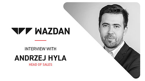 G2E Asia interview with Andrzej Hyla, Head of Sales at Wazdan