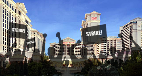 Las Vegas casino workers vote for strike action on June 1
