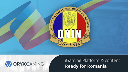 ORYX Gaming ready to enter Romanian iGaming market