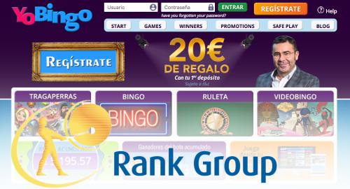 Rank Group buy Spain's number-two online bingo operator