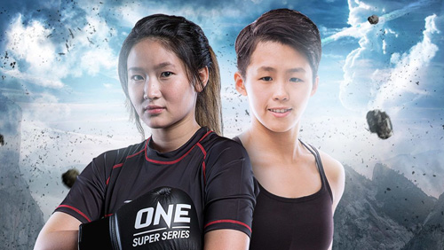 Yodcherry Sityodtong takes on Kaiting Chuang for inaugural ONE super series kickboxing atomweight world championship