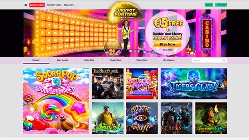 J. Fortune Entertainment Ltd launches new casino site with a proprietary bingo product to follow shortly with unique features