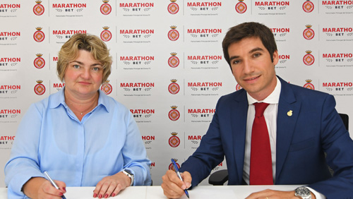 Marathonbet is the new main sponsor of Girona FC