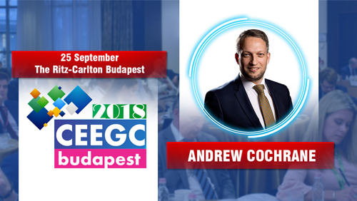Andrew Cochrane (CCO at SBTech) to join the U.S. focusing IMGL MasterClass at CEEGC 2018 Budapest