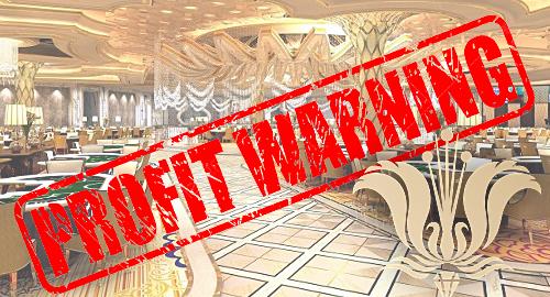 Imperial Pacific profit warning on mounting VIP gambling debts