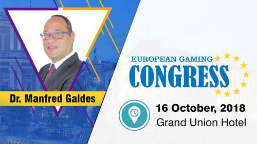 Dr. Manfred Galdes – Chairman at ARQ Group to speak at European Gaming Congress 2018