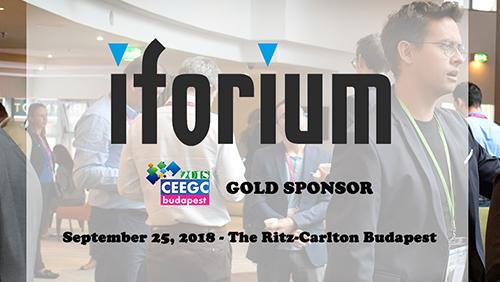Iforium will be Gold Sponsor at CEEGC 2018 Budapest