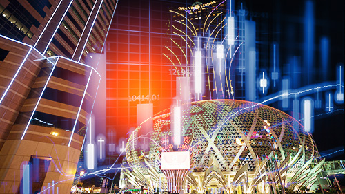 Macau gaming receipts up 18.7% in 2017