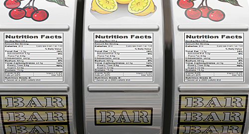 Slot machine 'calorie labels' cause problem gamblers to spend more