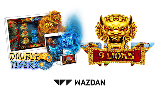 Wazdan doubles up with 9 Lions and Double Tigers dual release