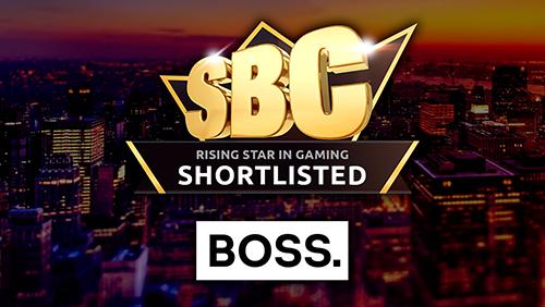 BOSS. Gaming is shortlisted at the SBC Awards
