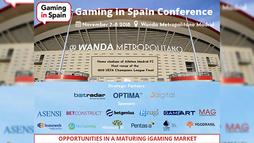 New real casino live gaming solution at Gaming in Spain Conference
