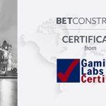 Live Casino of BetConstruct gets certification from GLI UK