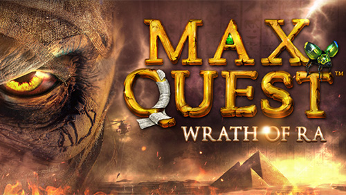 Unearth a Revolution in Gaming with MAX QUEST: WRATH OF RA