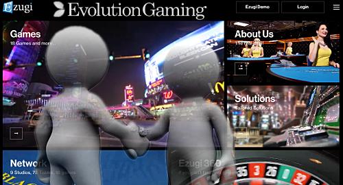 Evolution Gaming to acquire live casino rival Ezugi