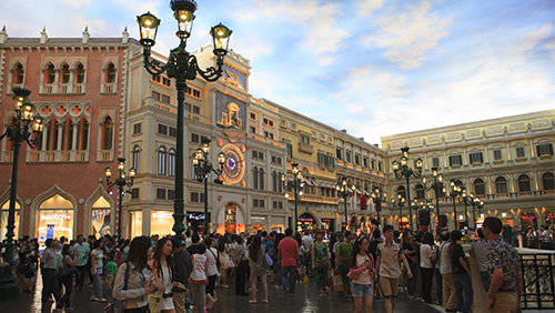 Macau government expects visitor numbers to increase 7% over last year