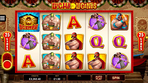 Microgaming's Lucha Legends enters the arena