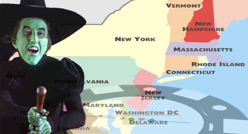 Northeast US casino states have extra scary October
