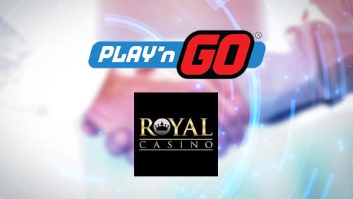 Play'n GO signs RoyalCasino Platform agreement