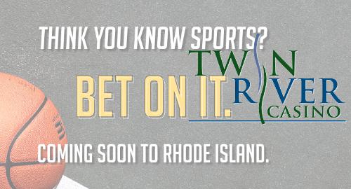 Rhode Island sports betting by Monday; W. Virginia third book