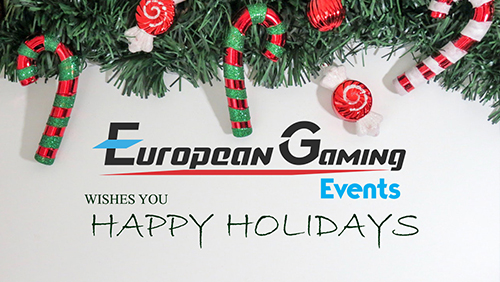 Your Christmas present from European Gaming Events is here, claim it now!