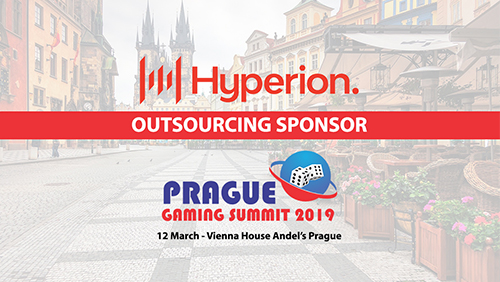 Hyperion Tech announced as outsourcing sponsor at Prague Gaming Summit 3
