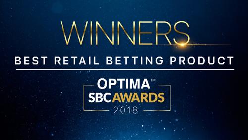Optima wins best retail betting product at SBC Awards 2018