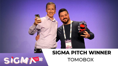Tomobox announced the winner of prestigious SiGMA 18 Startup Pitch Competition