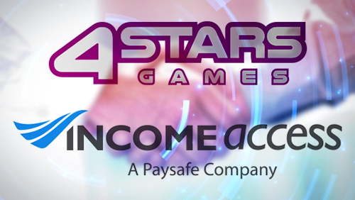 4StarsGames launches managed affiliate programme with Income Access