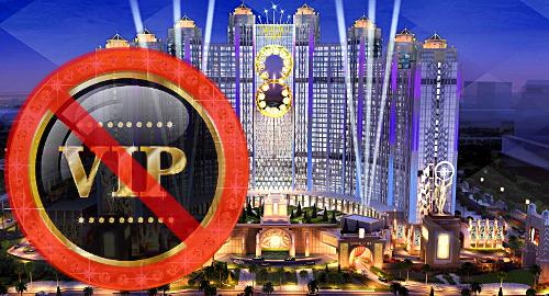 Macau's Studio City casino to stop VIP rolling chip operations