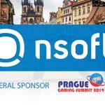 NSoft announced as general sponsor at Prague Gaming Summit 3