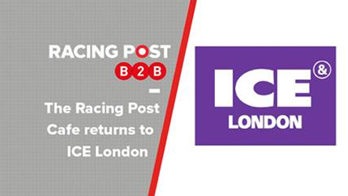 The Racing Post Cafe returns to ICE London